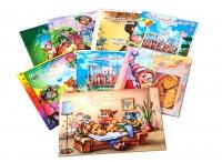 Выпускные альбомы для детского сада планшеты (портрет и виньетка)